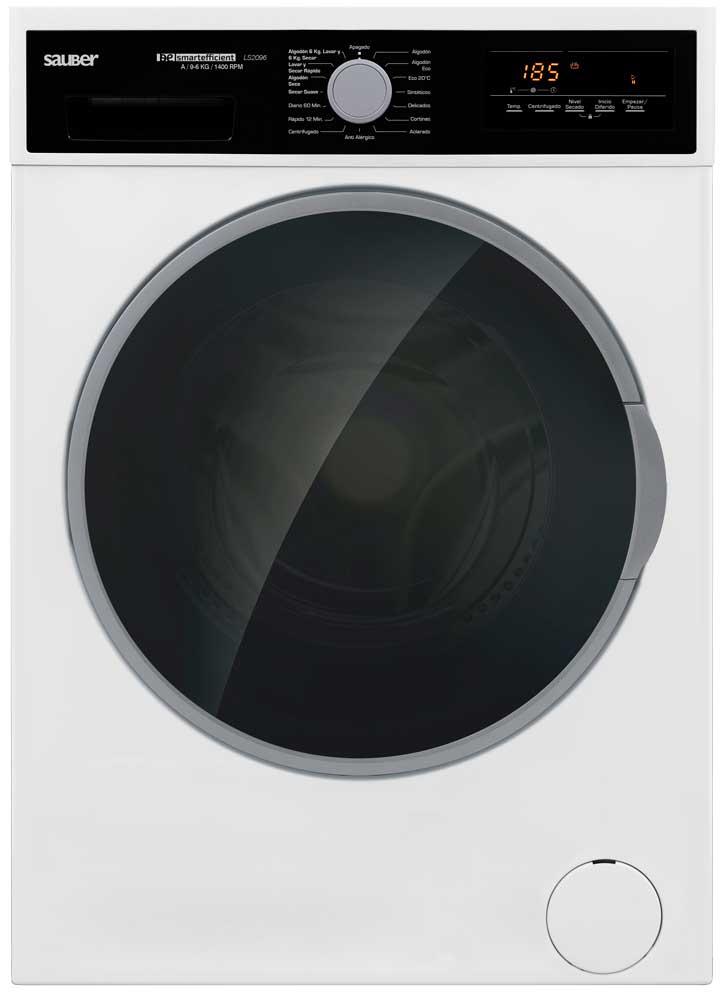 Imagen grande de Lavadora secadora  LS2096 9/6 kg 1400 rpm a blanco