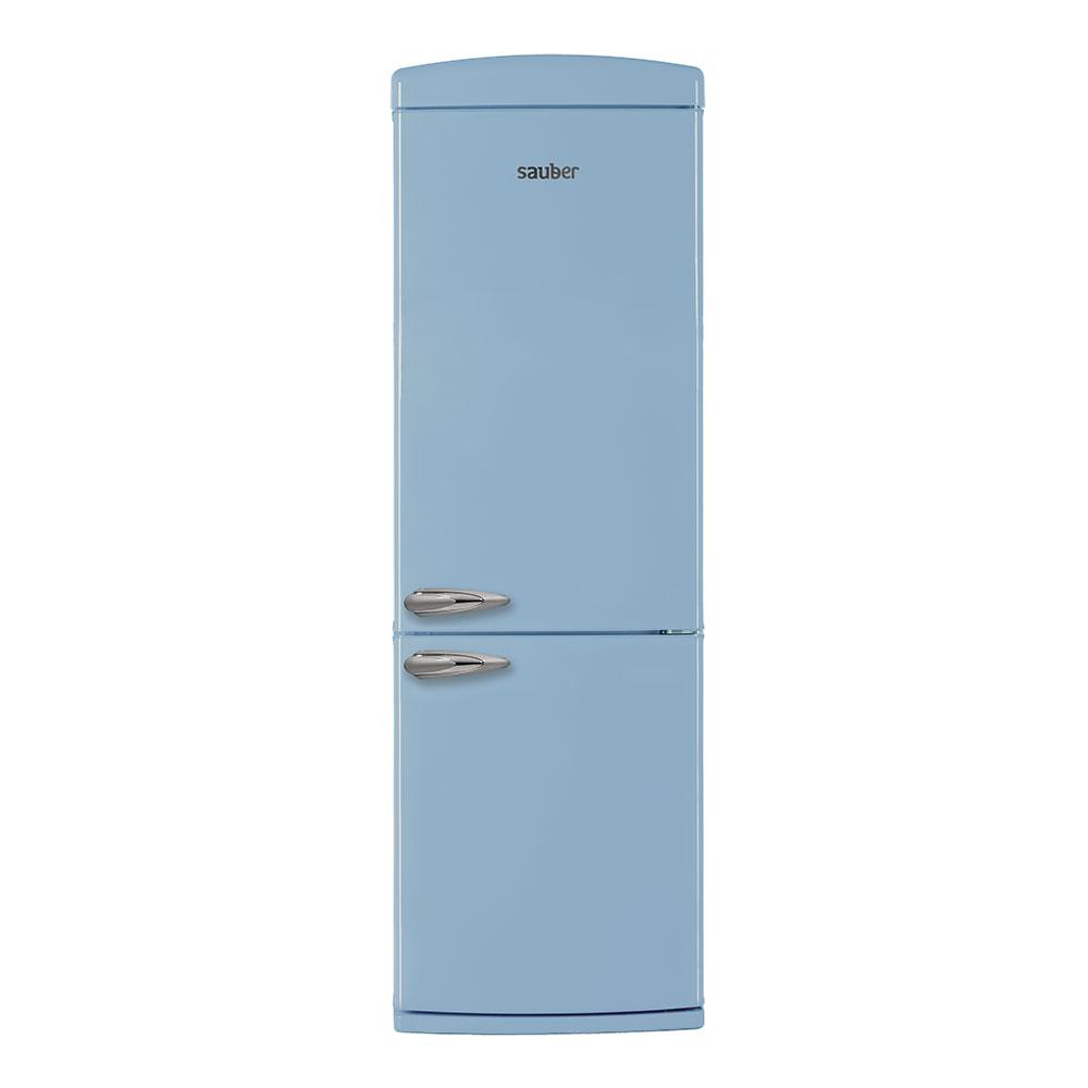 Imagen grande de Frigorifico combi  SCR190A a+ alto 190 cm ancho 60 cm azul