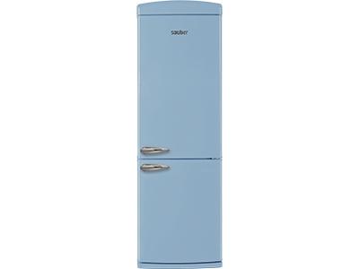 Frigorifico combi  SCR190A a+ alto 190 cm ancho 60 cm azul