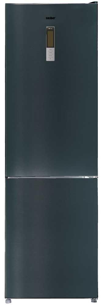 Imagen grande de Frigorifico combi  SCC201B total nofrost a++ alto 200 cm ancho 60 cm cristal negro