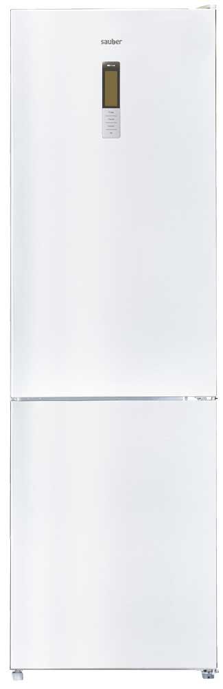Imagen grande de Frigorifico combi  SCC201W total nofrost a++ alto 200 cm ancho 60 cm cristal blanco