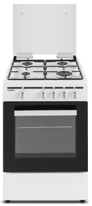 Imagen de Cocina de gas  SCW4GN 4 zonas coccion blanca