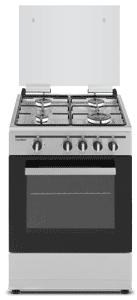 Cocina de gas  SCI4GN 4 zonas coccion inox